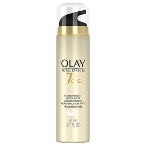 Olay Total Effects Featherweight Moisturizer with Sunscreen Broad Spectrum SPF 15, Fragrance Free