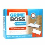 Grime Boss Dry Sweeper Cloths- 16 ea