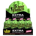 5-Hour Energy Extra Strength Energy Shot, Strawberry Watermelon, 12 pk- 1.93 oz