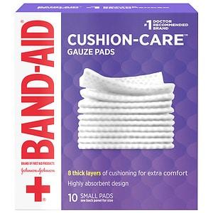 Band-Aid Gauze Pads, 2 x 2 inch