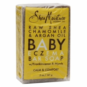 SheaMoisture Baby Eczema Bar Soap, Raw Shea Chamomile & Argan Oil