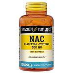 Mason Natural NAC N-Acethyl-L-Cysteine Essential Amino Acids, Capsules- 60 ea