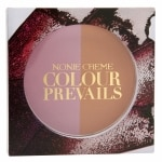 Nonie Creme Colour Prevails Bashful Biscuit Blush / Bronzer Duo, English Rose (Rose)- .24 oz