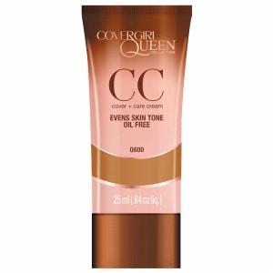 CoverGirl Queen Collection CC Cream, Rich Sand Q600, .84 fl oz