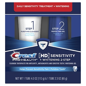 Crest Pro-Health HD Daily Two-Step Toothpaste System, 1 ea