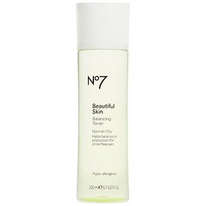 Boots No7 Beautiful Skin Balancing Toner, Normal/Oily