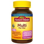 Nature Made Multi For Her, Complete Multi Vitamin/Mineral,