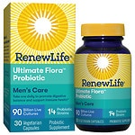 ReNew Life Ultimate Flora Men's Complete 90 Billion, Vegetable Capsules- 30 ea