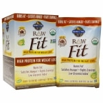 Garden of Life RAW Fit High Protein for Weight Loss, Packets, 10