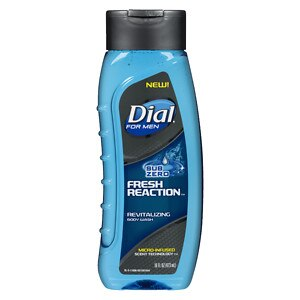 Dial for Men Body Wash Fresh Reaction, Sub Zero