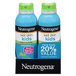Neutrogena Wet Skin Kids Beach & Pool Sunscreen Spray, SPF 70+- 5 fl oz