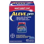 Aleve PM Soft Grip Cap- 40 ea