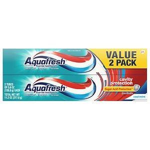 Aquafresh Cavity Protection Fluoride Toothpaste, Cool Mint