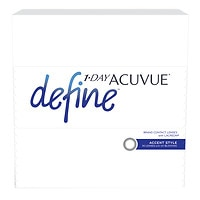 1-Day Acuvue Define 90Pk , Accent - Contact Lens- 90 ea
