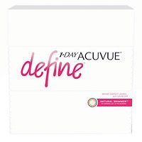 1-Day Acuvue Define 90Pk , Natural Shimmer - Contact Lens- 90 ea