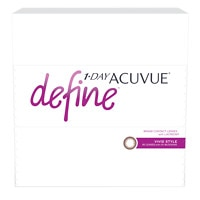 1-Day Acuvue Define 90Pk , Vivid - Contact Lens- 90 ea