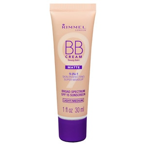 Rimmel BB Cream, Light/Medium, 1 fl oz
