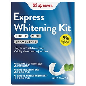 Walgreens One Hour Express Whitening Kit, Mint