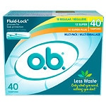 o.b. Multi Pack, 18 Regular 12 Super 10 Super Plus- 40 ea