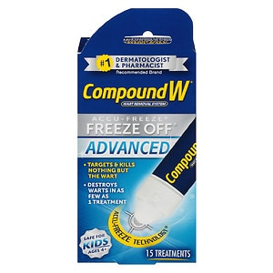Compound W Wart Removal System Freeze Off Advanced Treatment