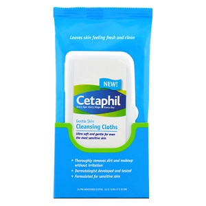 Cetaphil Gentle Skin Cleansing Cloths, 2 pk
