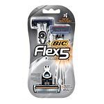 BIC Flex 5 Men's Disposable Shaver- 3 ea