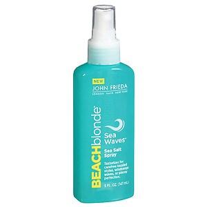 John Frieda Beach Blonde Sea Waves Sea Salt Spray, 5 oz