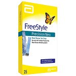 FreeStyle Precision Neo Test Strip- 25 ea