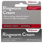 Walgreens Clotrimazole Antifungal Ringworm Cream- .42 oz