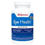 Walgreens Eye Health for Adults 50+, Softgels