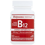Walgreens Vitamin B12 Time Released Tablets