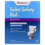 Walgreens Toilet Safety Rail- 1 ea