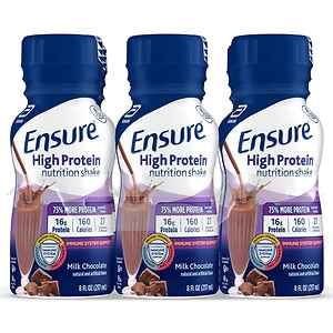 Ensure Active High Protein Shakes, Chocolate, 6 pk