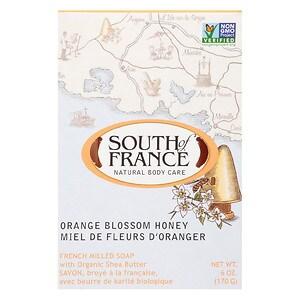South of France Bar Soap, Orange Blossom Honey
