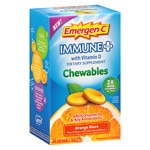 Emergen-C Immune+ with Vitamin D Chewables, Orange Blast- 14 ea