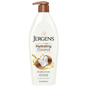 Jergens Hydrating Coconut Lotion, 16.8 oz