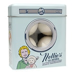 Nellie's All Natural Wool Dryerball Tin- 4 ea