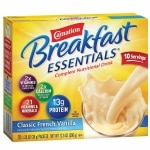 Carnation Breakfast Essentials Complete Nutritional Drink, Packets, Classic French Vanilla- 10 ea