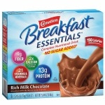 Carnation Breakfast Essentials Complete Nutritional Drink, No