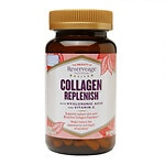 ReserveAge Nutrition Collagen Replenish with Hyaluronic Acid & Vitamin C- 120 ea