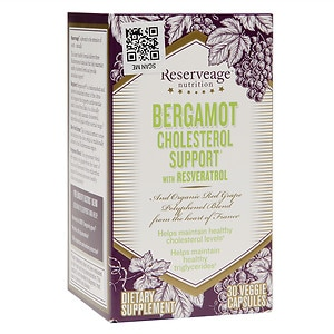 ReserveAge Nutrition Bergamot Cholesterol Support with
