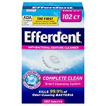 Efferdent Original Tablet Bonus 102ct- 102 ea