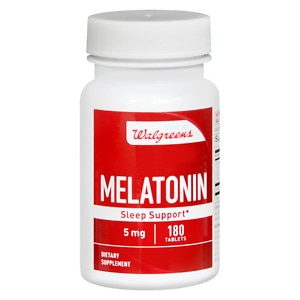 Walgreens Red Melatonin 5 mg Tablets