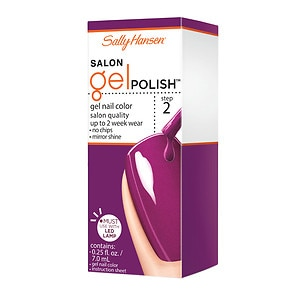 Sally Hansen Salon Gel Polish, Polished Purple