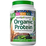 Purely Inspired 100% Plant-Based Protein Nutritional Shake, Chocolate- 24 oz
