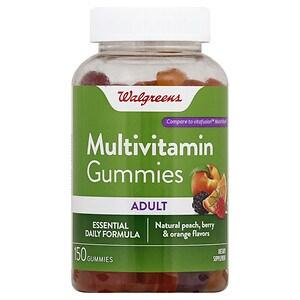 Walgreens Adult Multivitamin Gummies, Peach