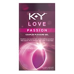 K-Y Love Passion Couples Pleasure Gel Intimate Lubricant- 1.69 oz
