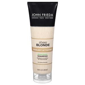 John Frieda Sheer Blonde Highlight Activating Darker Shampoo- 8.45 oz