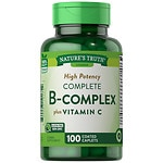 Nature's Truth Timed Release High Potency B-Complex Plus Vitamin C- 100 ea