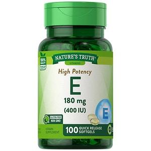 Nature's Truth Vitamin E 400 IU with Natural D-Alpha